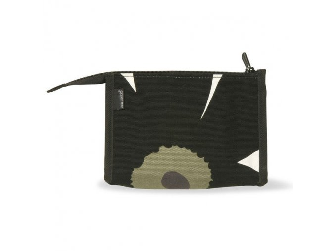 Marimekko - kosmetická taštička Unikko černá