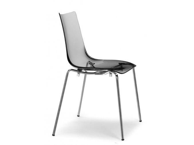 SCAB - plastová židle ZEBRA ANTISHOCK - 4 nohy