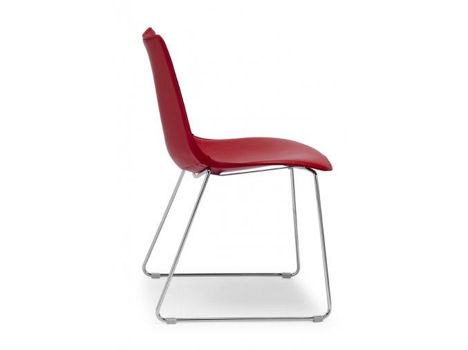 SCAB - polstrovaná židle ZEBRA POP - podnož lyžiny