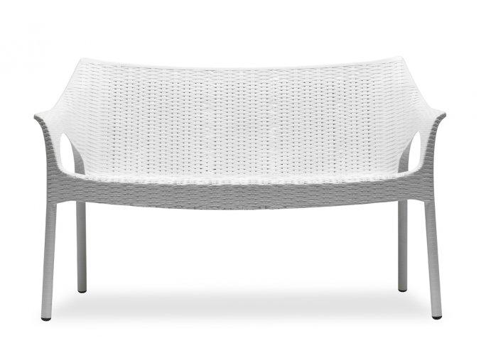 SCAB - plastová sofa OLIMPO s polštářem