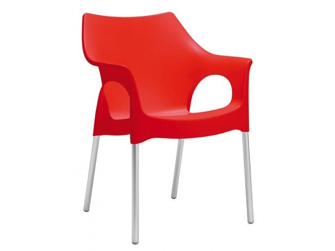 SCAB - plastová židle OLA