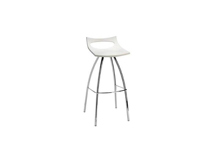 SCAB - barová plastová židle DIABLITO FIX