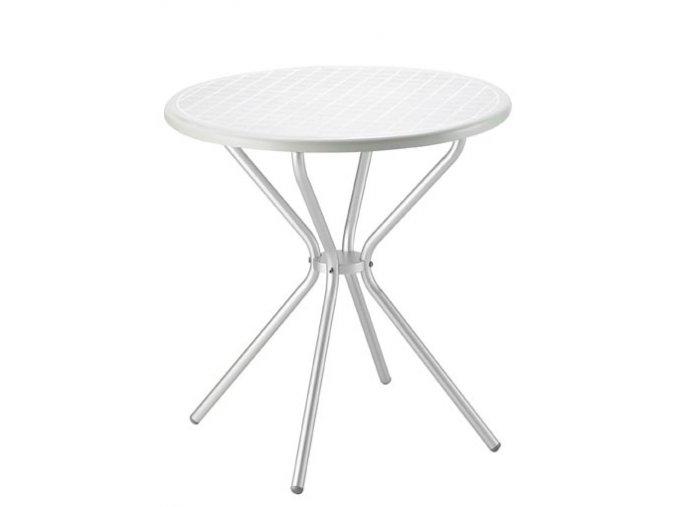 SCAB - plastový kulatý stůl JIMMY, průměr 70 cm