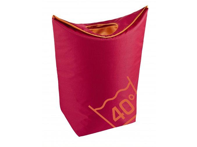 Zone - koš na prádlo červený