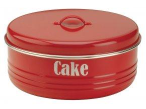 Typhoon - dóza Vintage Cake červená