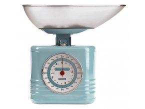 Typhoon - Kuchyňská váha Vintage Scales modrá