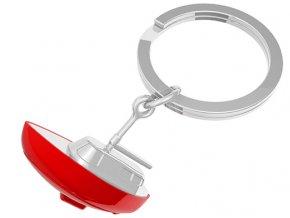 MTM - klíčenka Jachta červená