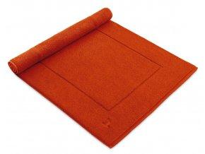 Möve koupelnová předložka ESSENTIAL tmavě oranžová