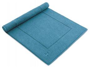 Möve koupelnová předložka ESSENTIAL modrá laguna