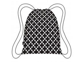 Ecozz stylový batoh Eco Backpack Black Squares