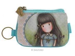 SANTORO - malá peněženka FORGET ME NOT