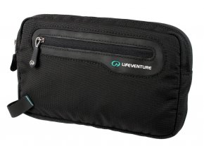 Lifeventure RFiD Ticket Wallet Black - bezpečnostní kapsička na dokumenty