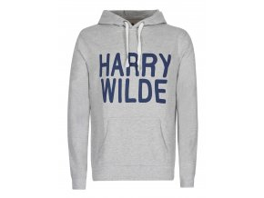 Harry Wilde pánská mikina šedá