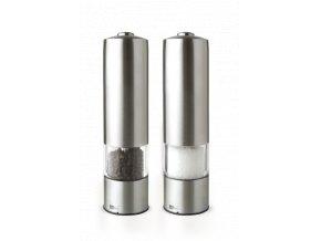 AdHoc - Keramický mlýnek na pepř a sůl 2 ks - elektrický LED 2