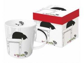 602997 Black Cat Vase TREND MUG