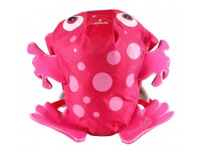 L12041 pink frog swim bag 1