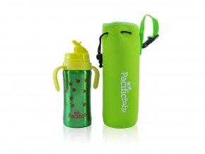 Pacific Baby - termoobal + ochrana lahve zelený