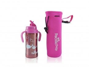 Pacific Baby - termoobal + ochrana lahve růžový