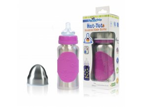 pacific baby hot tot termoska 125 ml modra spiralky
