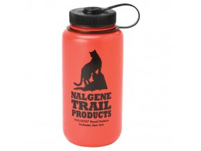NALGENE - láhev na pití Wide Mouth 1000 ml Red Cat Logo
