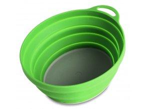 75520 silicone ellipse bowl green 6