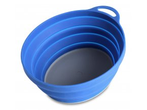 75510 silicone ellipse bowl blue 6