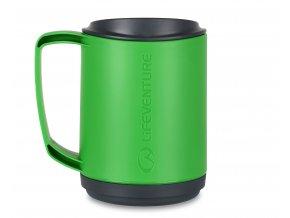 74043 ellipse insulated mug green