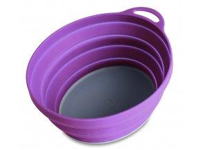 75515 silicone ellipse bowl purple 6