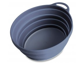 75525 silicone ellipse bowl graphite 6