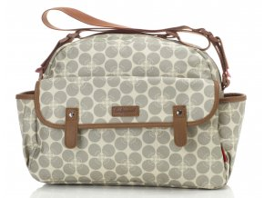 Molly Grey Floral Dot 1