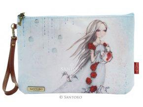 SANTORO - pouzdro Mirabelle ROSE TEA