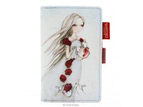 SANTORO - peněženka ROSE TEA