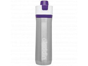 Aladdin - sportovní vakuová láhev na vodu 600ml fialová