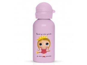 Label Tour lahev na vodu Princezna
