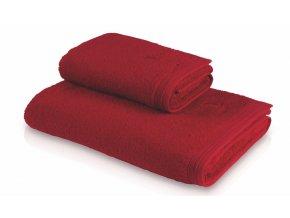 Möve - ručník Superwuschel rubínový