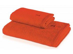 Möve - ručník Superwuschel červený