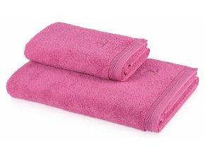 Möve - ručník Superwuschel růžový