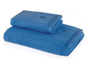 Möve - ručník Superwuschel modrá chrpa