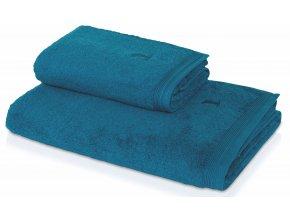 Möve - ručník Superwuschel modrá laguna