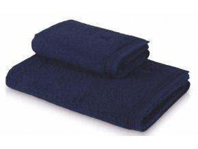 Möve - ručník Superwuschel hlubiná modrá