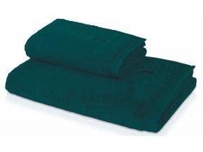 Möve - ručník Superwuschel tmavě zelená