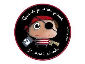 Label Tour dětský koberec Pirát