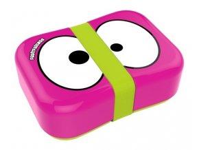 FRUITFRIENDS svačinový box růžový s gumičkou