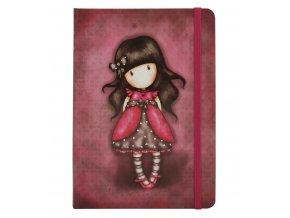 230EC28 Gorjuss Hardcover Notebook Ladybird front wr