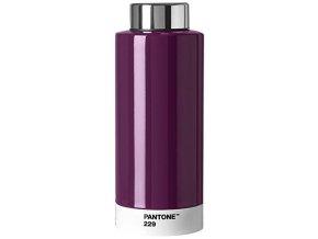 Pantone lahev na pití Steel Aubergine 0,63l