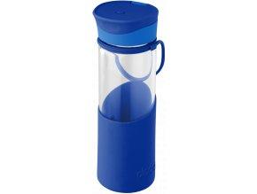 Aladdin skleněná lahev MIGO ENJOY 500 ml modrá