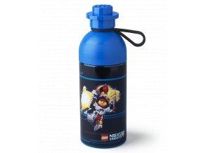 LEGO lahev na pití NEXO KNIGHTS 0,5l transparentní modrá
