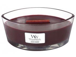 WoodWick - vonná svíčka ve skle černá třešeň 453,6 g