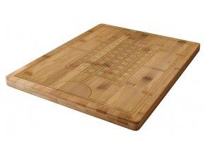 KJ Collection bambusová krájecí prkénko