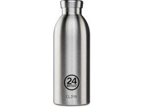 24Bottles - termolahev Clima Bottle Steel 0,5l